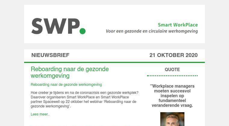 Nieuwsbrief SWP 21 oktober