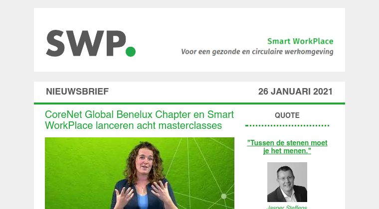 DCMR nieuwe partner Smart WorkPlace