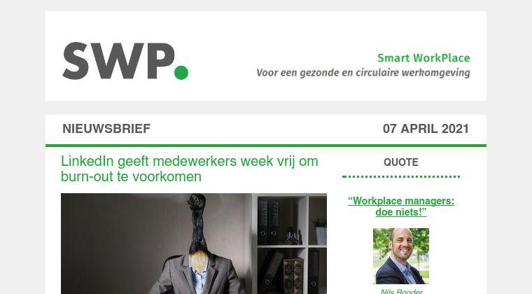 Smart WorkPlace belicht gezonde werkomgeving tijdens Verbindingsfestival