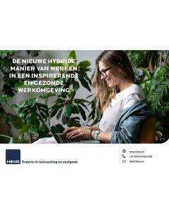 Het nieuwe hybride werken in een inspirerende en gezonde werkomgeving