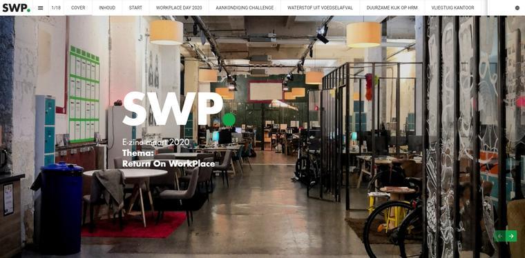 Vierde E-zine Smart WorkPlace gaat over Return on WorkPlace