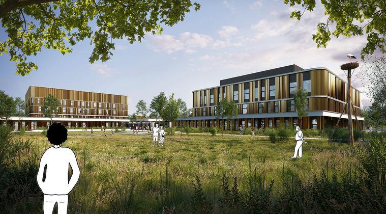 All-electric ziekenhuis met Healing Environment