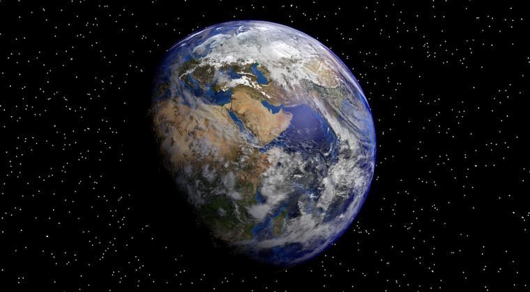 'Een stuk aarde over aan het einde van het jaar'