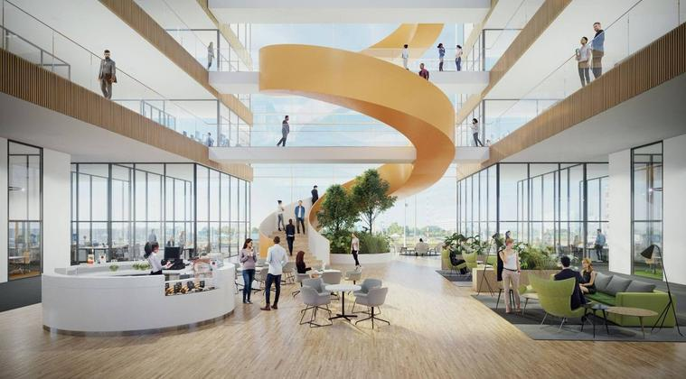 Bouw multi-tenant kantoorgebouw Helix van start