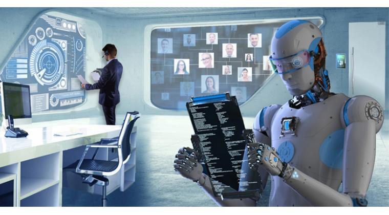 De nieuwe werkplek heet robot