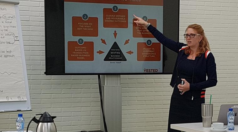 16 mei 2018: Driedaagse leergang over strategische partnerships aangaan