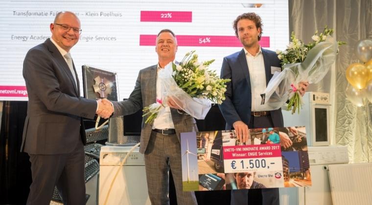 Eerste UNETO-VNI Innovatie Award voor technische dienstverlener