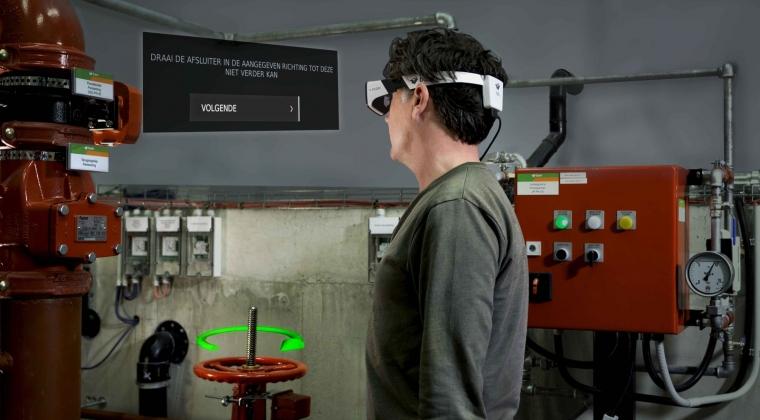 Efficiënter werken dankzij smart glasses