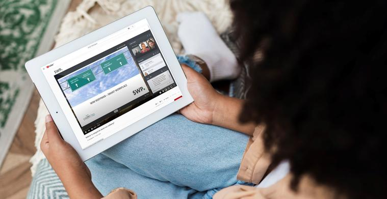 <span>Eigen YouTube-kanaal voor Smart WorkPlace</span>