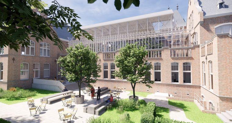 Faculteitsgebouw Mijnbouw op campus TU Delft wordt kantoor