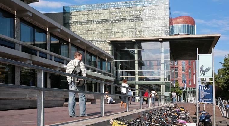 Franc van Nunen (VU) spreekt over 'Campus als enabler' tijdens Campus Day
