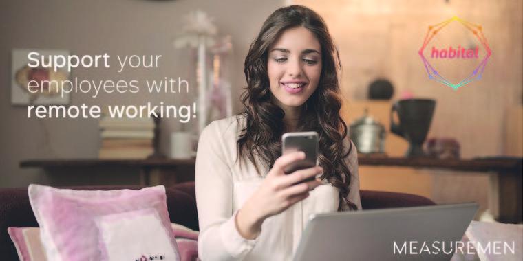 Habital® Remote monitort gezondheid en tevredenheid van thuiswerkers tijdens Corona crisis