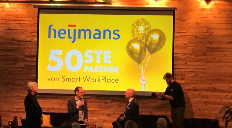 Heijmans 50ste partner Smart WorkPlace