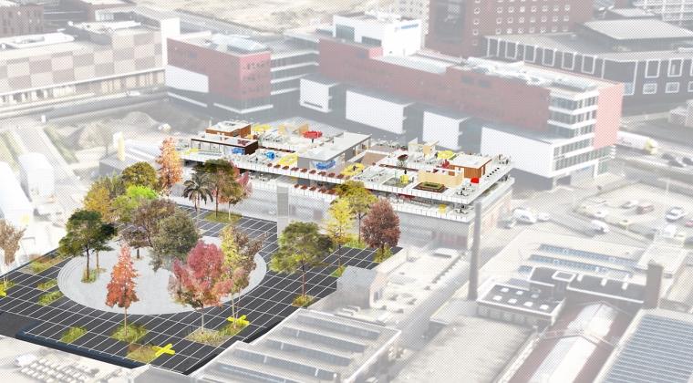 Innovatief werkconcept in de Nieuwe Stad in Amersfoort