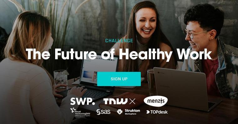 Neem deel aan de challenge 'Future of Healthy Work'
