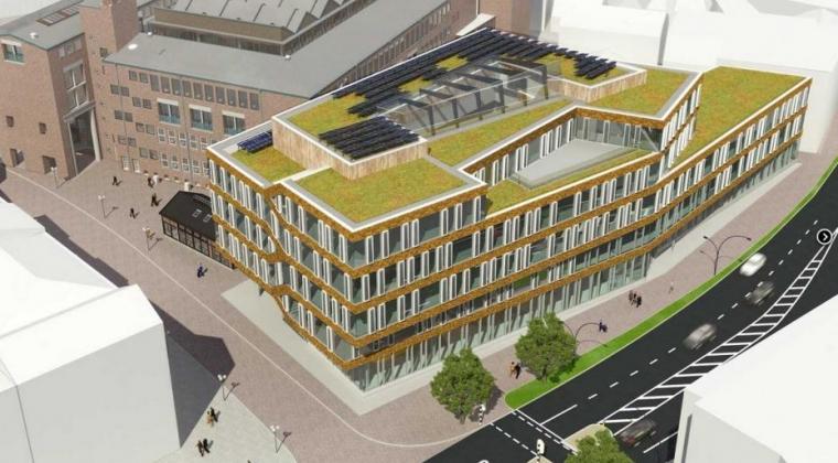 Naast duurzaam stadskantoor ook circulaire werkomgeving in Hengelo