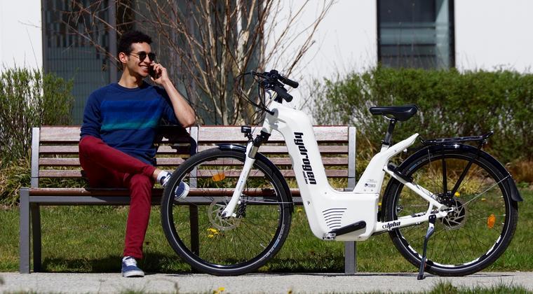 Nu ook e-bike op waterstof