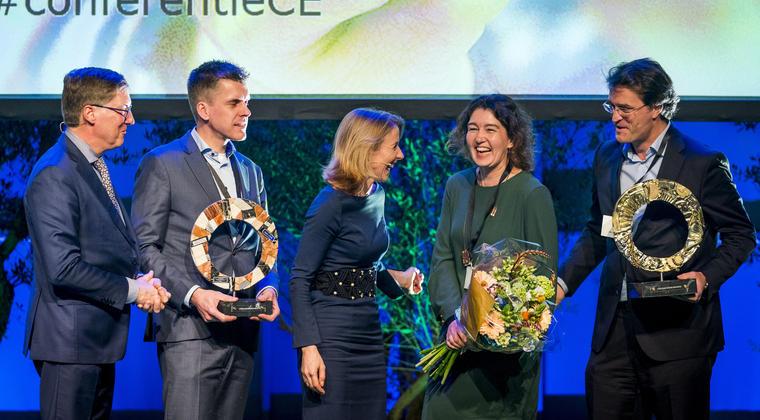 Plastic Pact NL en Circular Awards tijdens Nationale Conferentie Circulaire Economie