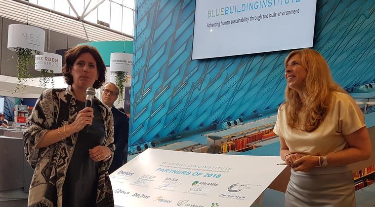 Primeur: eerste gebouwgebruiker Founding Partner van Blue Building Institute