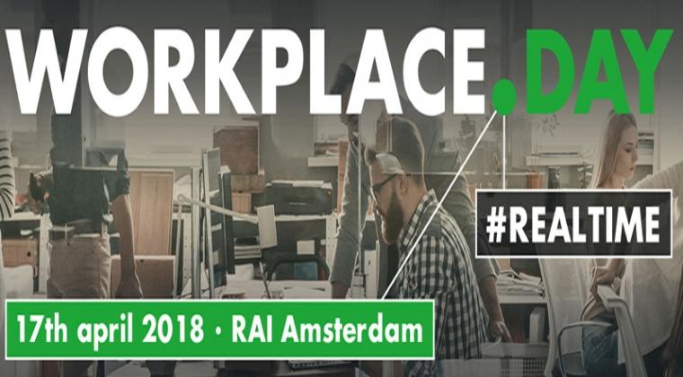 17 april 2018: Realtime staat centraal op eerste WorkPlace.Day
