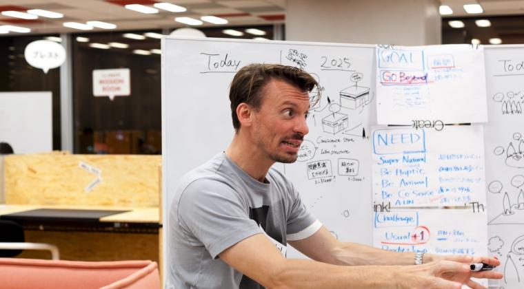 SWP-team neemt deel aan Work Hackathon van Vitra