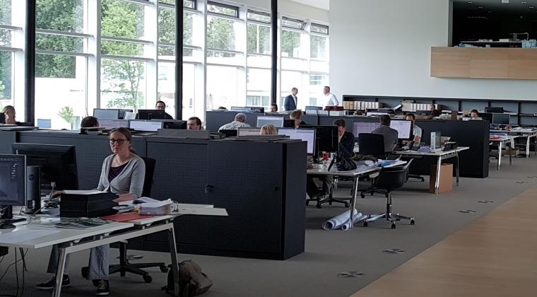 Technische faciliteiten in werkomgeving ver onder de maat