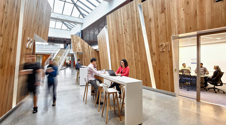 Vier trends bij de groei van coworking