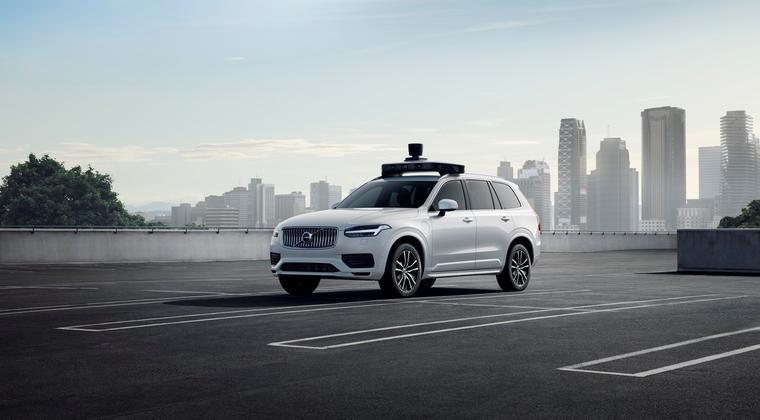 Volvo Cars en Uber lanceren met Volvo XC90 een voor autonoom rijden geschikt gemaakte auto