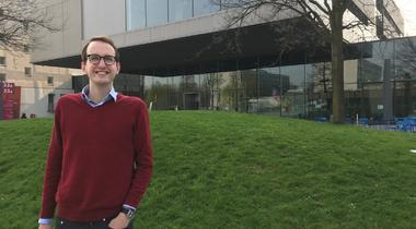 Bart Valks (TU Delft) keynotespreker tijdens Campus Day op 20 juni