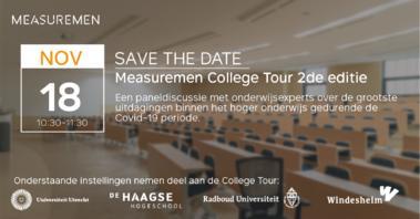 College Tour over Covid-19 uitdagingen hoger onderwijs