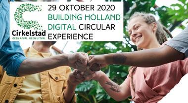 29 oktober 2020: Dag van de Eindgebruiker op Cirkelstadplein Building Holland