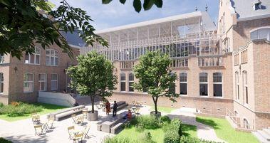 Faculteitsgebouw Mijnbouw op campus TU Delft wordt kantoor <span lang='NL'><span><span></span></span></span>