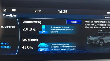 Getest door Smart WorkPlace: Hyundai NEXO