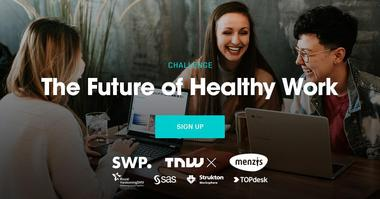 Neem deel aan de challenge 'Future of Healthy Work'