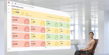 Slim en realtime inzicht in social distance in gebouwen