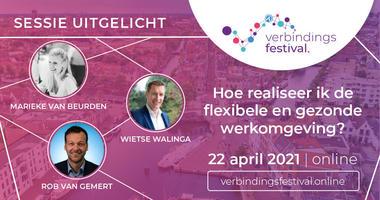 22 april 2021: Smart WorkPlace belicht gezonde werkomgeving tijdens Verbindingsfestival