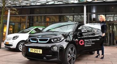 Vijf Haagse bedrijven delen elektrische auto's