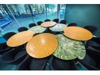Circulaire vergadertafels