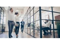 De kantooroppervlakte afstemmen op nieuwe manieren van werken