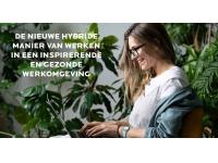 De nieuwe hybride manier van werken in een inspirerende en gezonde werkomgeving