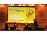 Heijmans 50ste partner Smart WorkPlace