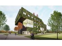 Nieuwbouw Aeres hogeschool Almere paradepaardje Floriade