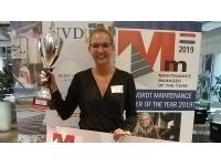 NVDO benoemt Celeste Martens tot Maintenance Manager van het Jaar